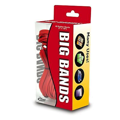 Alliance Rubber 00699 Big Bands For Oversized Jobs 48 Pack Of Large Elastic ...