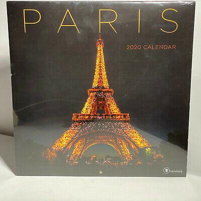 TF Publishing 2020 'Paris' 12 Month Wall Calendar