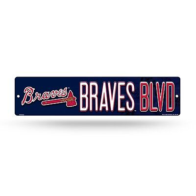 - Atlanta Braves Street Sign NEW 4