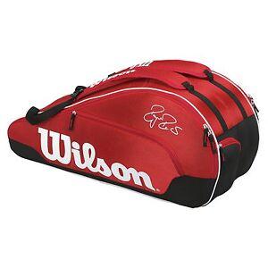 Wilson Federer Team III 6 Racket Tennis Racquet Bag