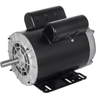 Air Compressor Electric Motor New 3 Hp 3450 Rpm 60 Hz 115-230 Volts Cm03256