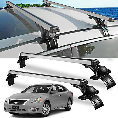 "For Nissan Altima Sentra Versa Car Sedan Luggage Cross Bars RoofRack Carrier 47"""