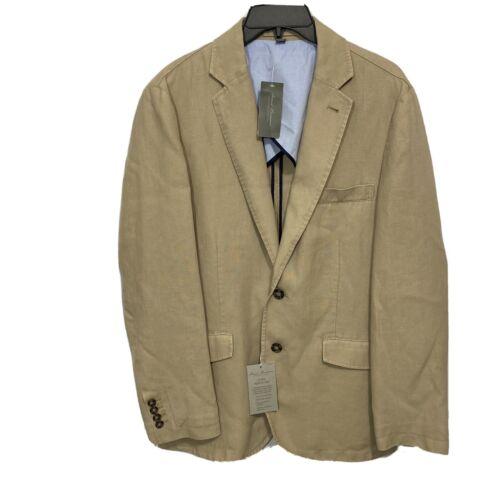 $250 DANIEL CREMIEUX Mens Linen Sport Coat Blazer Jacket XL Clothing, Shoes & Accessories