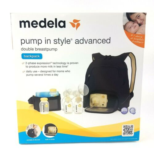 Medela Pump in Style Advanced Breastpump Backpack Double Electric Model 57062