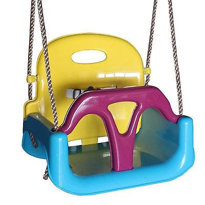 Babyschaukel Komfort Kleinkindschaukel für Baby Schaukelsitz Schaukel 3 in 1