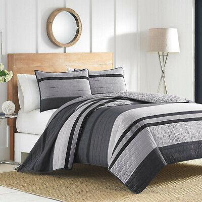 Nautica® Vessey Twin Quilt in Grey