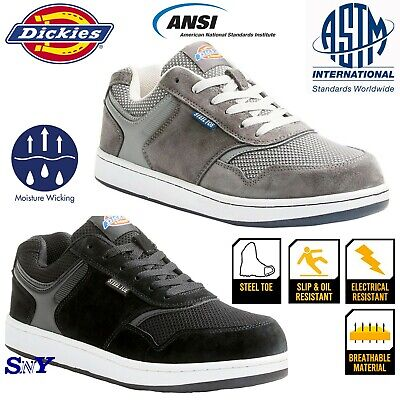 Dickies Steel Toe Slip Oil Electrical Resistant Work Shoes Safety Boots ASTM