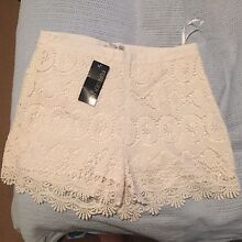 Brand new with tags!! Forever New size 12 white shorts Woolooware Sutherland Area Preview