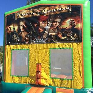 Pirates of the Caribbean Jumping Castle Hire Beenleigh Logan Area Preview