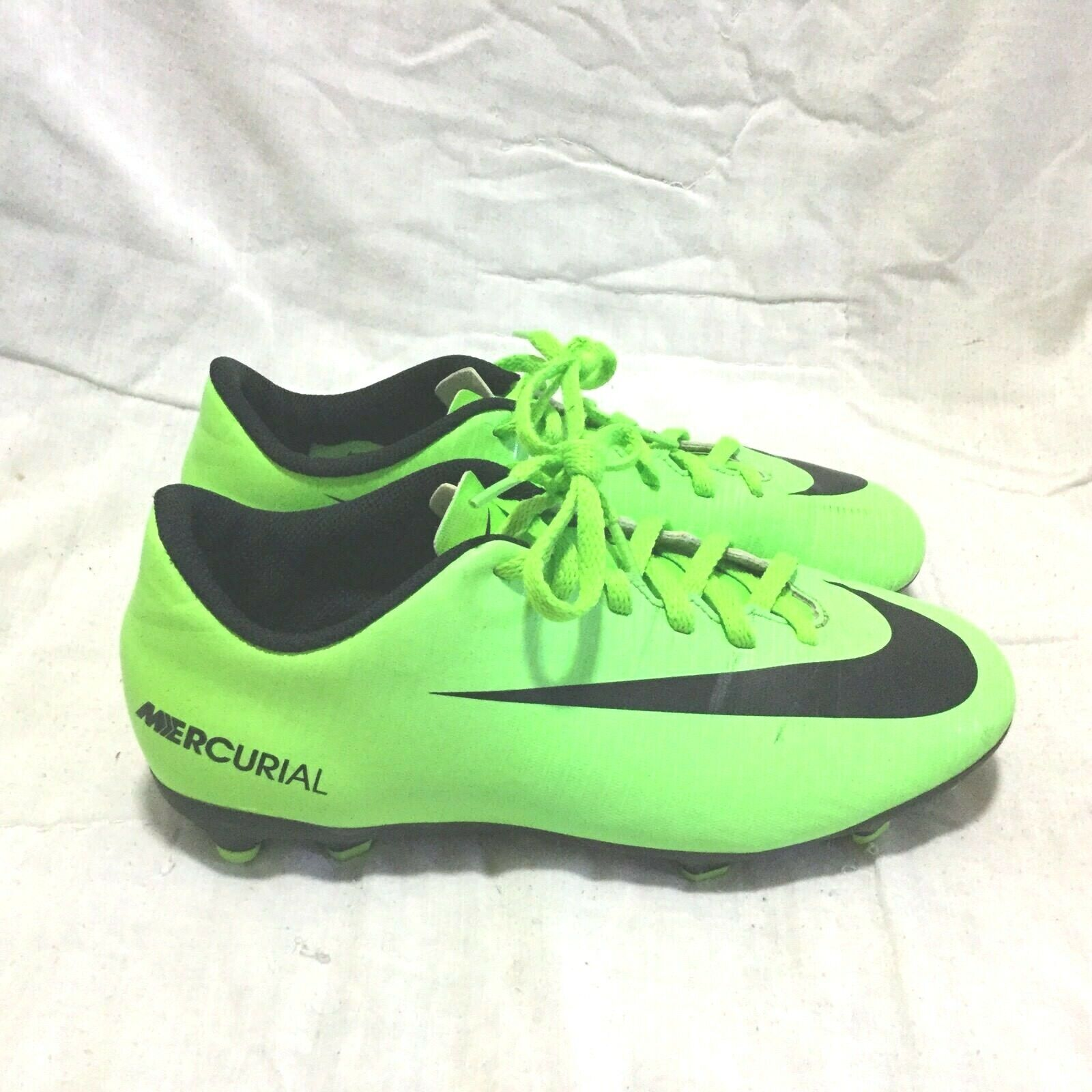 NIKE MERCURIAL SOCCER CLEATS / MULTI COLOR ( SIZE 5.5Y ) YOUTH