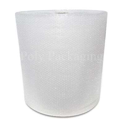 100m (1 Full Roll) x 600mm/60cm Wide SMALL BUBBLE WRAP ROLLS For Packaging