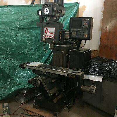 Lagun Ftc-2cnc 3 Axis Cnc Vertical Mill To Repair Or Retrofit Anilam Crusader M