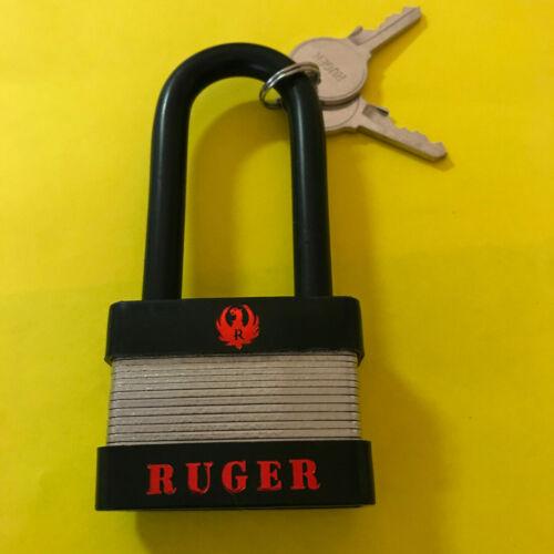 New Ruger Factory Lock Model 5025 Padlock &  Keys