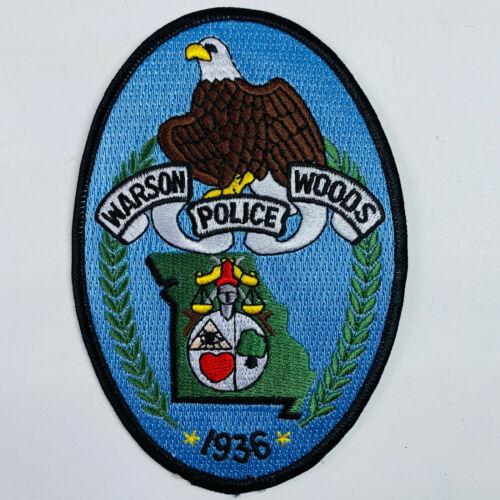 Warson Woods Police Missouri Patch (A2)