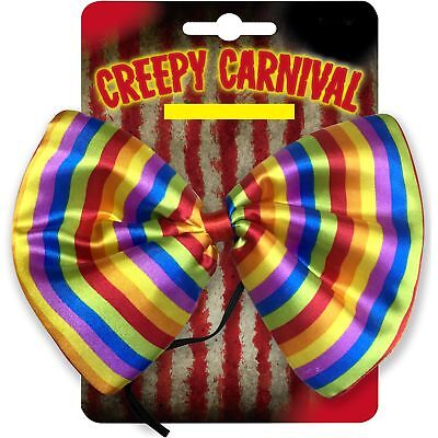 Halloween Riesige Kostüm Unheimlich Creep Karneval Clown Fliege Kostüm Cosplay ()