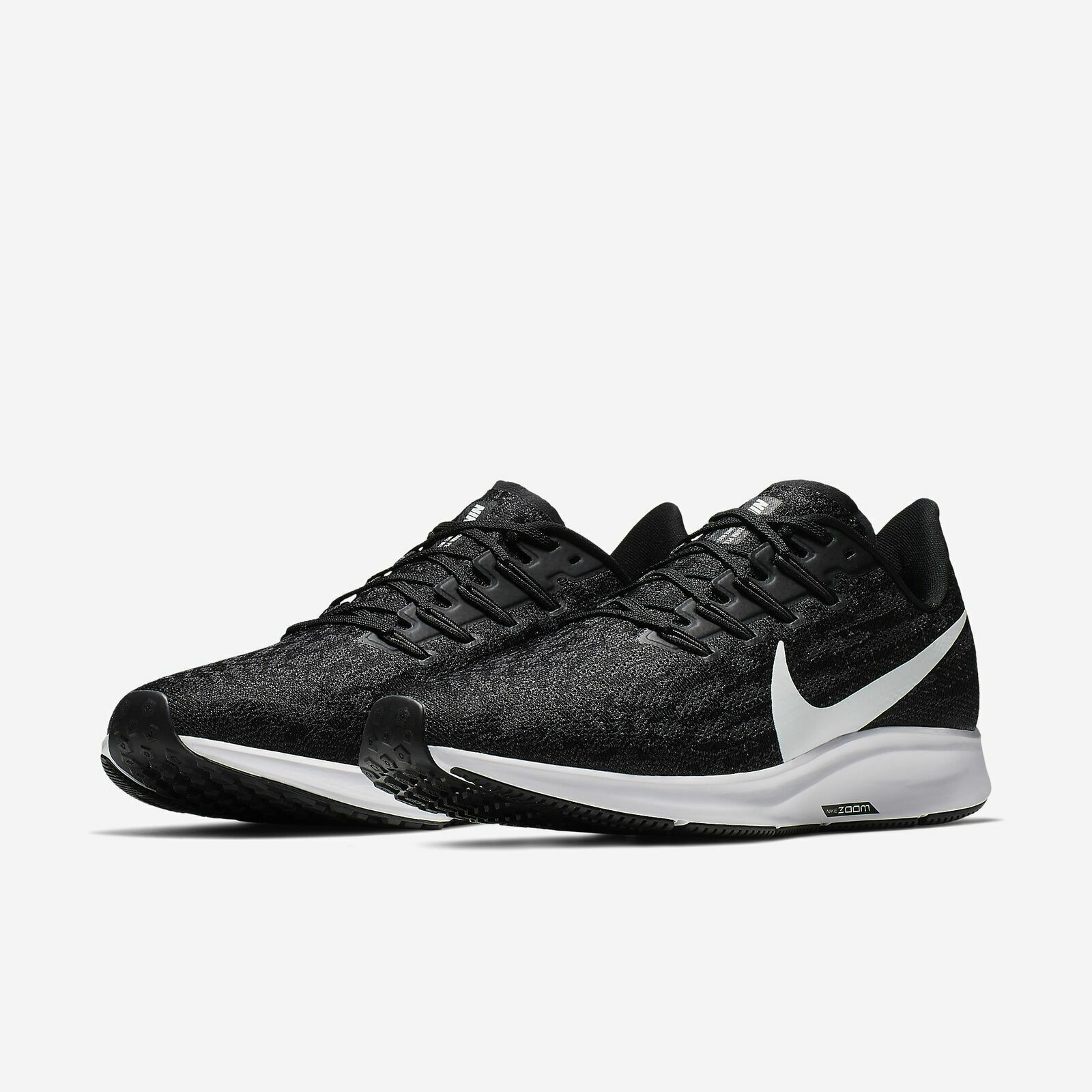 quality design 03b9c 27d96 Nike Air Zoom Pegasus 36 Running Shoes Black White Gray AQ2203-002 Men's NEW