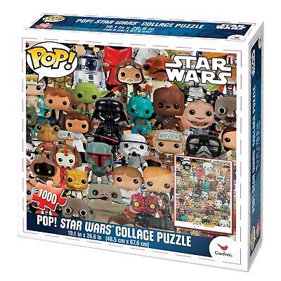 FUNKO POP! Star Wars Collage 1000 Piece Jigsaw Puzzle New Sealed Christmas Gift