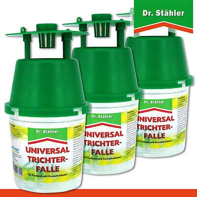 Dr.Stähler 3 X Universal-Trichterfalle