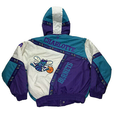 Vintage 90's Charlotte Hornets NBA Fits Small / Medium ProPlayer Jacket