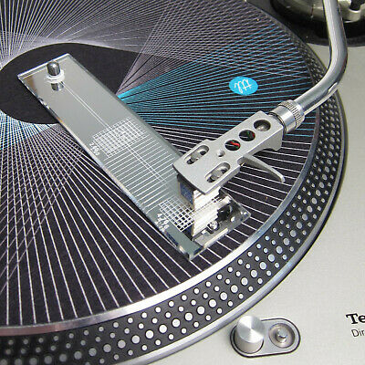 Used, Turntable Phono Cartridge Stylus Alignment Protractor Tool Mirror Baerwald  for sale  Shipping to India
