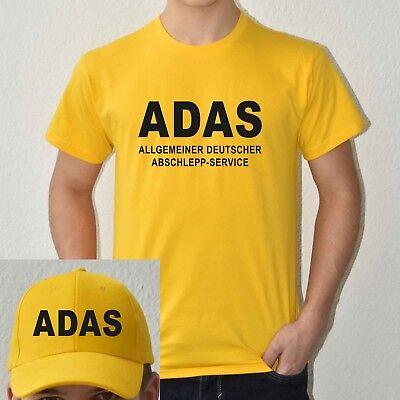 T-Shirt Kostümset Allg. Deutscher Abschlepp-Service ADAS Wunschnr. Herren - Deutschen Herren Kostüm