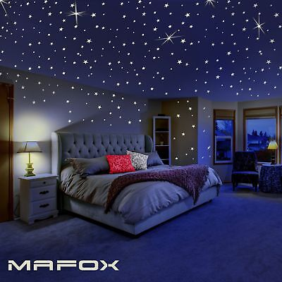 Glow in The Dark Stars for Ceiling or Wall Stickers - Glowin