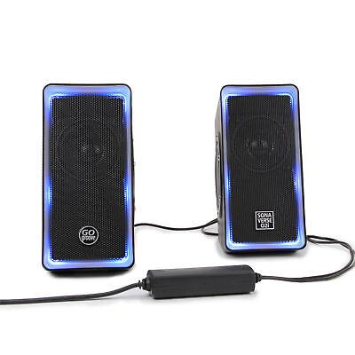 LED Computer Speakers for Desktops & Laptops  USB Powered Ga