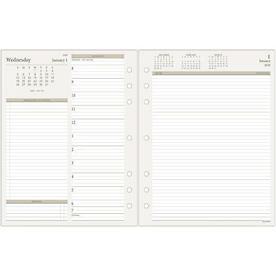2020 AT-A-GLANCE Day Runner Daily Refill 2-Page Per Day Loose-Leaf -