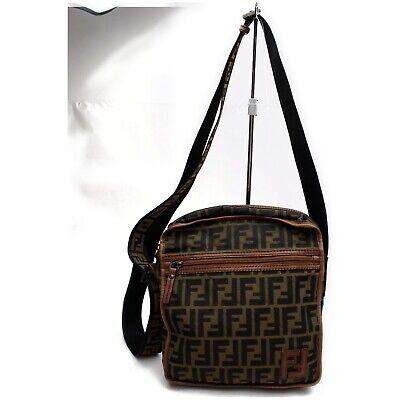 Fendi Shoulder Bag  Browns Nylon 1211529