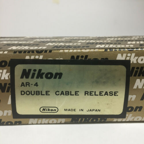 Nikon AR-4 Double Cable Release