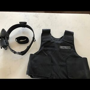 Personal Body Armor and Utility belt
