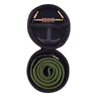 Gun Snake Bore Cleaner Brush Barrel Cleaning Kit for Pistol 9mm .357 Caliber
