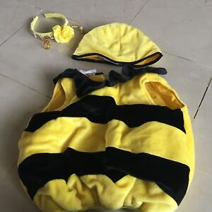 Bee costume 0-18 months