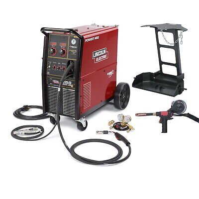Lincoln K3069-1 Power Mig 256 Mig Welder One-pak Package