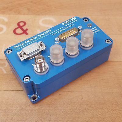 Kistler 5073a521 Charge Amplifier Boot V1.02 Cpu 1 V1.18 - Used