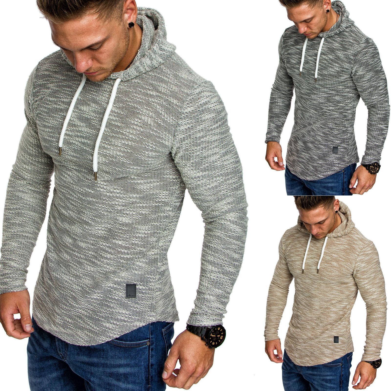 Herren Oversize Kapuzenpullover Hoodie Sweater Pullover Sweatshirt 4012