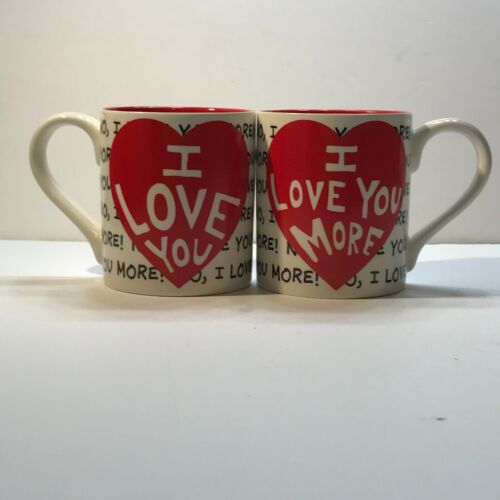 I Love You!  I Love You More! Coffee Mug Our Name Is Mud Lorrie Veasey
