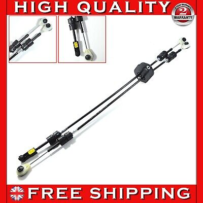 GEAR SELECTOR LINKAGE CABLE SET FITS FORD TRANSIT MK7 2.4 RWD  6 SPEED - RHD
