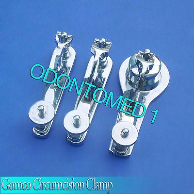 3 Pcs Gomco Circumcision Clamp 1.31.53.5cm Surgical Instruments