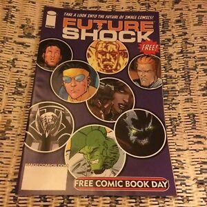 Image Comics Future Shock issue 1 comic book day 2006 Spawn Shadowhawk