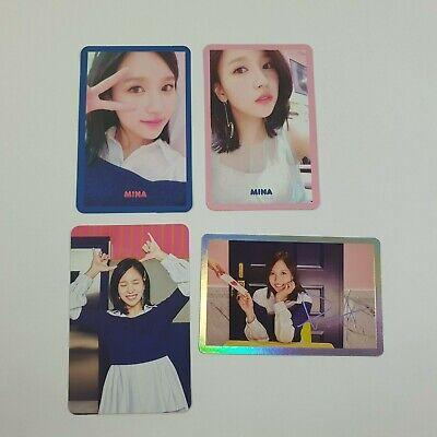 TWICE 4th Mini Signal Official Original MINA Selfie Special photocard set K-POP