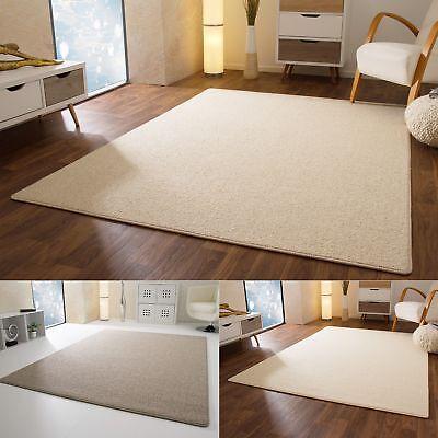 Designer Teppich Modern Berber Sydney Grau Creme Weiß 100% Wolle