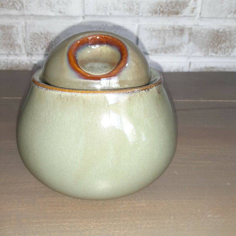 Sango Sugar Bowl Replacement Earth Tones