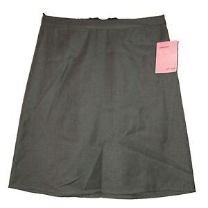fab new ex lewis grey a line school skirt w