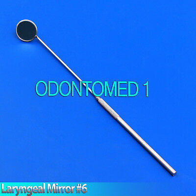 Laryngeal Mirror 6 Dental Ent Surgical Instruments