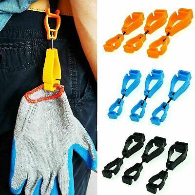 Work Gloves Clips Grabber Holder Guard Welding Glove Clamp Safety Worker Comfort