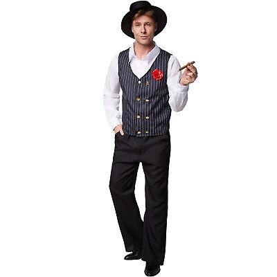 Herrenkostüm Charleston 20er Jahre Kostüm Mottoparty Karneval Fasching - Halloween Herren