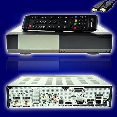 Formuler F1 E2 HD Triple 1.3GHz Full HD Linux HbbTV Sat Receiver 2x DVB-S2 Tuner