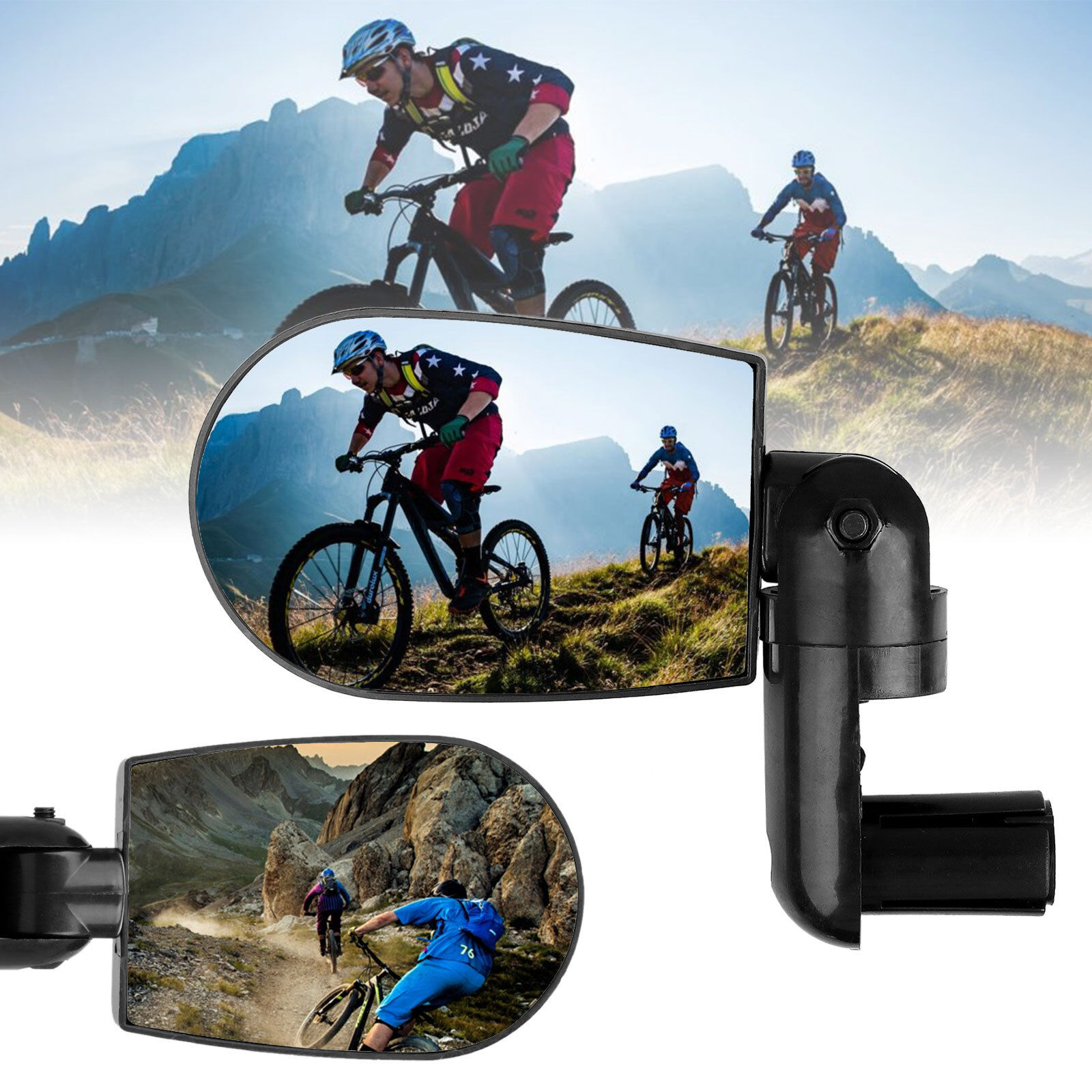 360 Rotate Flexible Handlebar Rearview Mirror Fo In Mirrors Square D Pressure Switch Class 9012 Amw1 Ebay For Bike Bicycle Cycling 352439376791