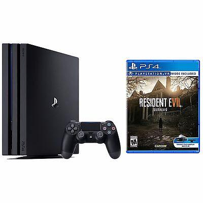 PlayStation 4 Pro 1TB Console Bundle + Resident Evil 7 Biohazard